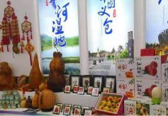 大荔特产亮相西安丝绸之路国际旅游博览会