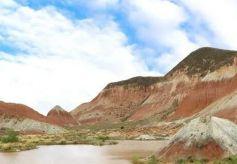 兰州的丹霞风景区,景色原生态,美丽迷人!