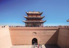 长城防线嘉峪关—— 古长城上的最大关隘
