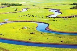 甘肃省甘南州:青青草原,美丽家园