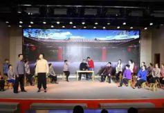 张掖市非遗舞台剧《宝卷印象》在武威、金昌等地上演
