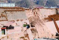 甘肃环县明代古城坍塌严重 每年仅几百元维护费