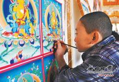 甘南藏族唐卡:传承千年的甘肃非物质文化遗产