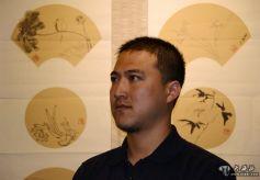 甘肃通渭籍书画名家廉奉儒作品展在兰州举行
