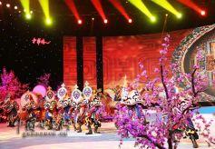 甘肃甘南拉卜楞民族歌舞走进《中华情》
