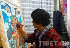 西北民族大学唐卡班:十个年轻唐卡绘画者的故事
